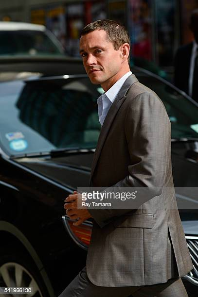 Actor Hugh Dancy enters 'The Late Show With Stephen Colbert' taping at the Ed Sullivan Theater on June 21 2016 in New York City