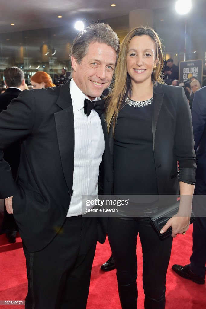 FILE: Hugh Grant And Anna Eberstein Set To Marry