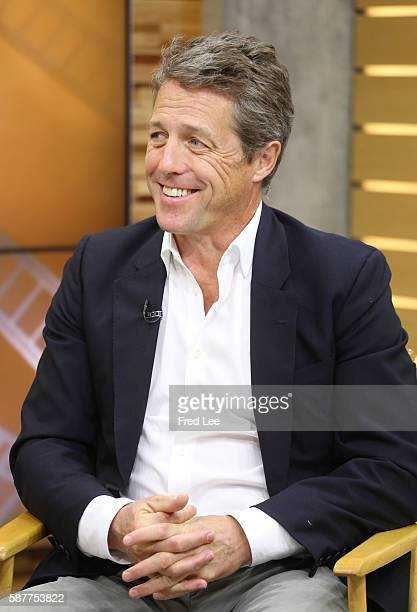 AMERICA Actor Hugh Grant appears on GOOD MORNING AMERICA 8/8/16 airing on the ABC Television Network HUGH