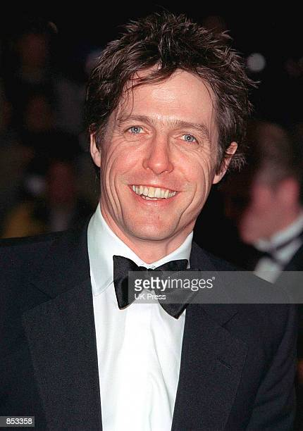 Actor Hugh Grant arrives at the British Academy Film Awards, February 25, 2001 at Odeon Leicester Square in London.