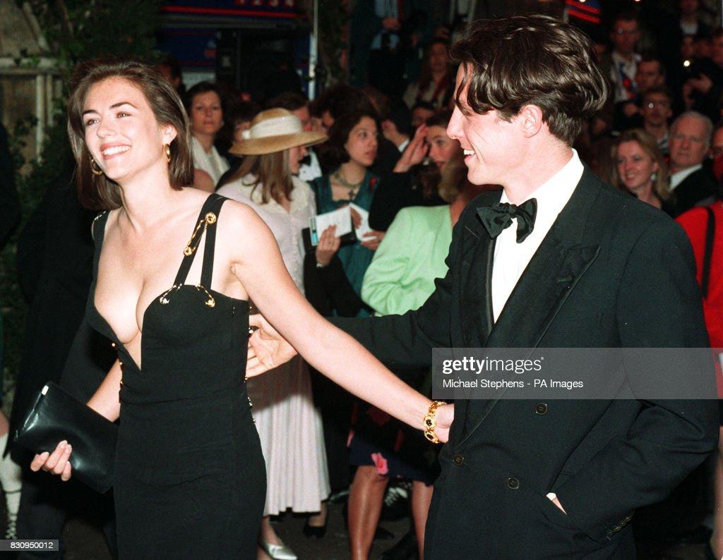 Hugh Grant and Liz Hurley : News Photo