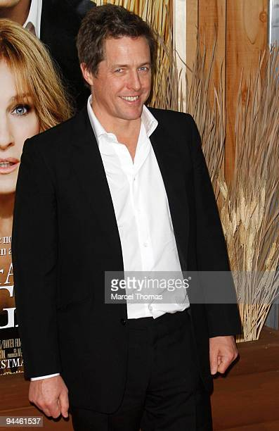 Actor Hugh Grant attends a screening of the movie 'Did You Hear About The Morgans' held at the Zegfeld theater in Manhattan on December 14 2009 in...
