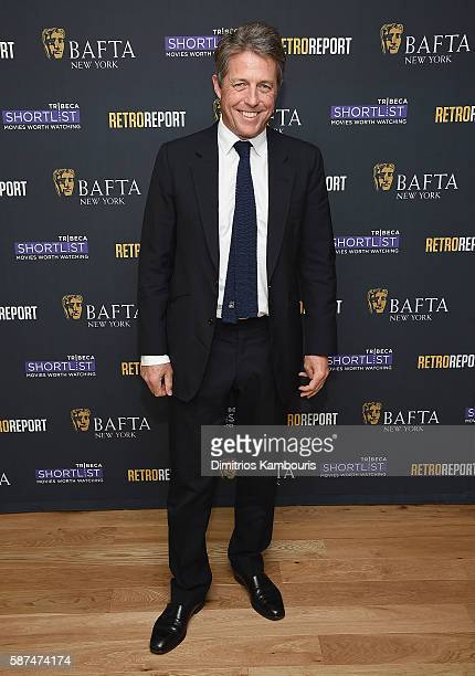 Actor Hugh Grant attends BAFTA New York with Tribeca Shortlist hosts 'In Conversation With Hugh Grant' on August 8 2016 in New York City