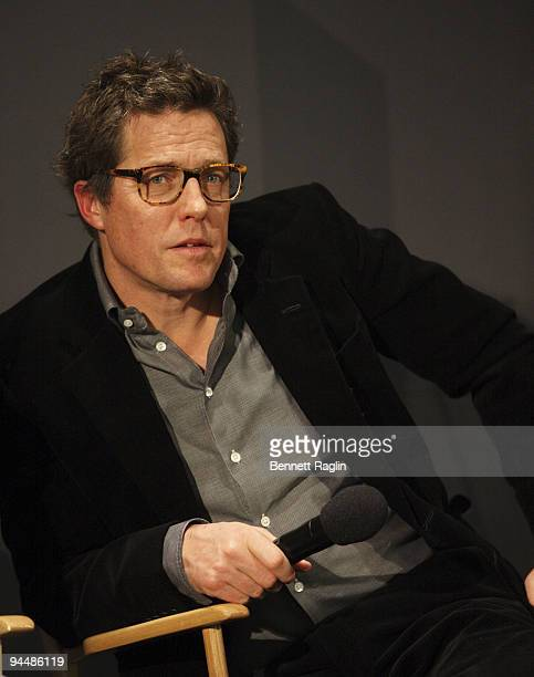 Actor Hugh Grant attends Meet The Actors 'Did You Hear About The Morgans' at the Apple Store Soho on December 15 2009 in New York City