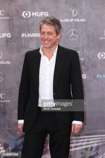 Actor Hugh Grant attends the 2020 Laureus World Sports Awards at Verti Music Hall on February 17, 2020 in Berlin, Germany.