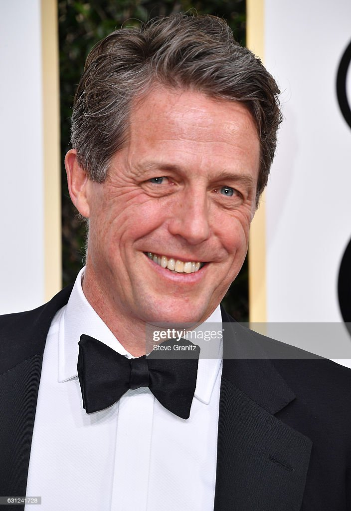 Actor Hugh Grant attends the 74th Annual Golden Globe Awards at The Beverly Hilton Hotel on January 8, 2017 in Beverly Hills, California.