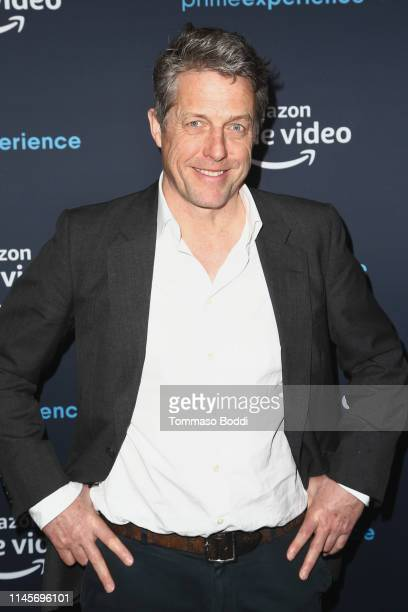 "Actor Hugh Grant attends the Amazon Prime Experience Hosts ""A Very English Scandal"" FYC Screening And Panel at Hollywood Athletic Club on April 28,..."