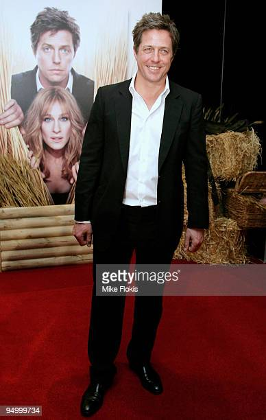 Actor Hugh Grant attends the Australian premiere of 'Did You Hear About The Morgans' at Event Cinemas George Street on December 22 2009 in Sydney...