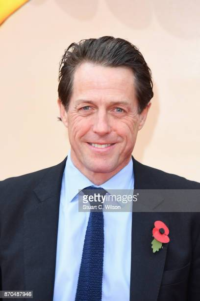 Actor Hugh Grant attends the 'Paddington 2' premiere at BFI Southbank on November 5 2017 in London England