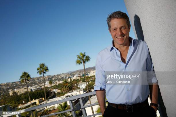 Actor Hugh Grant is photographed for Los Angeles Times on October 16 2018 in Beverly Hills California PUBLISHED IMAGE CREDIT MUST READ Jay L...