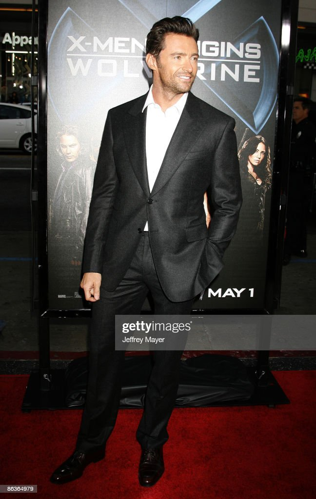 Actor Hugh Jackman arrives at 'X-Men Origins: Wolverine' Los Angeles Industry Screening at the Grauman's Mann Chinese Theater on April 28, 2009 in Hollywood, California.