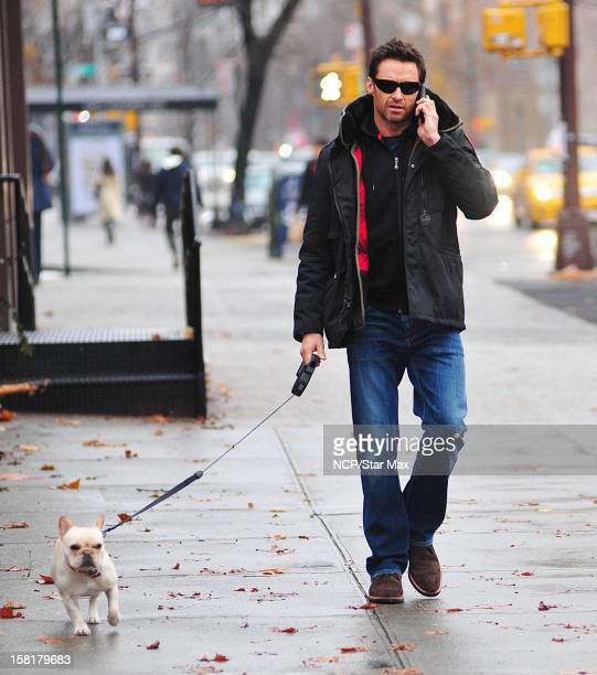 Actor Hugh Jackman as seen on December 10 2012 in New York City