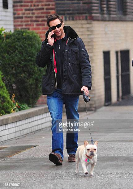 Actor Hugh Jackman as seen on December 10 2012 in New York City