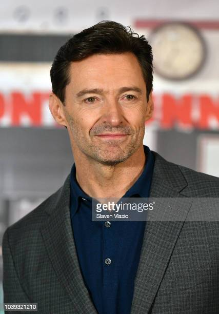 Director Jason Reitman and cast members Mamoudou Athie Hugh Jackman Sara Paxton and JK Simmons attend 'The Front Runner' Photo Call at Crosby Street...