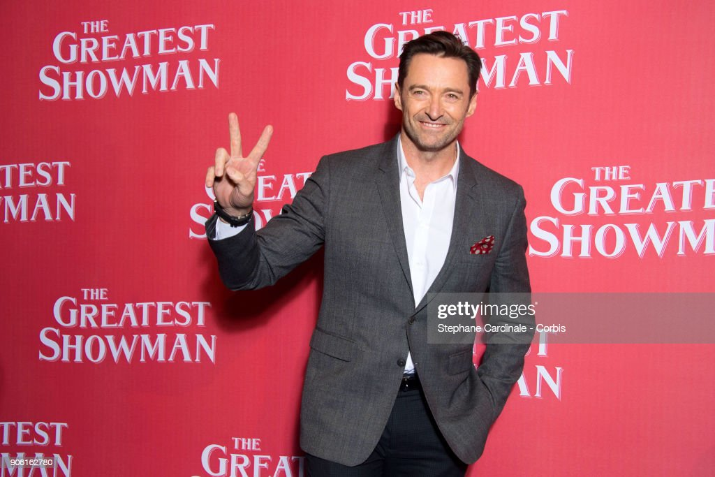 """The Greatest Showman"" Paris Premiere At Cinema Gaumont Capucines"