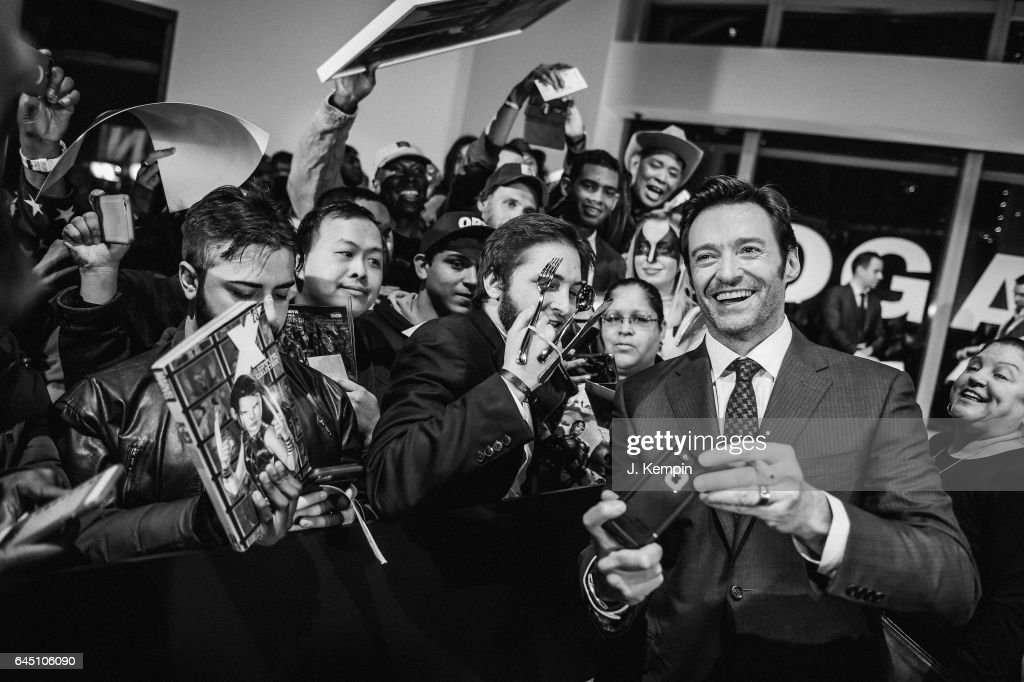 Actor Hugh Jackman attends the 'Logan' New York Special Screening at Rose Theater, Jazz at Lincoln Center on February 24, 2017 in New York City.