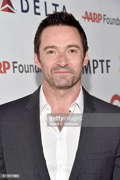 Actor Hugh Jackman attends the MPTF 95th anniversary celebration with 'Hollywood's Night Under The Stars' at MPTF Wasserman Campus on October 1 2016...