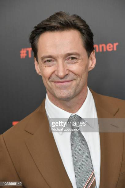 Actor Hugh Jackman attends the New York premiere of The Front Runner at the Museum of Modern Art on October 30 2018 in New York City