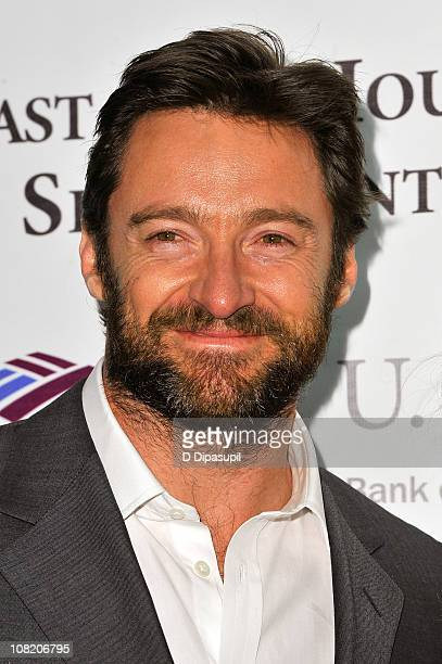 Actor Hugh Jackman attends the opening night of the 57th annual Winter Antiques Show at the Park Avenue Armory on January 20 2011 in New York City