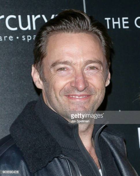 Actor Hugh Jackman attends the premiere of IFC Films' 'Freak Show' hosted by The Cinema Society and Bluemercury at Landmark Sunshine Cinema on...