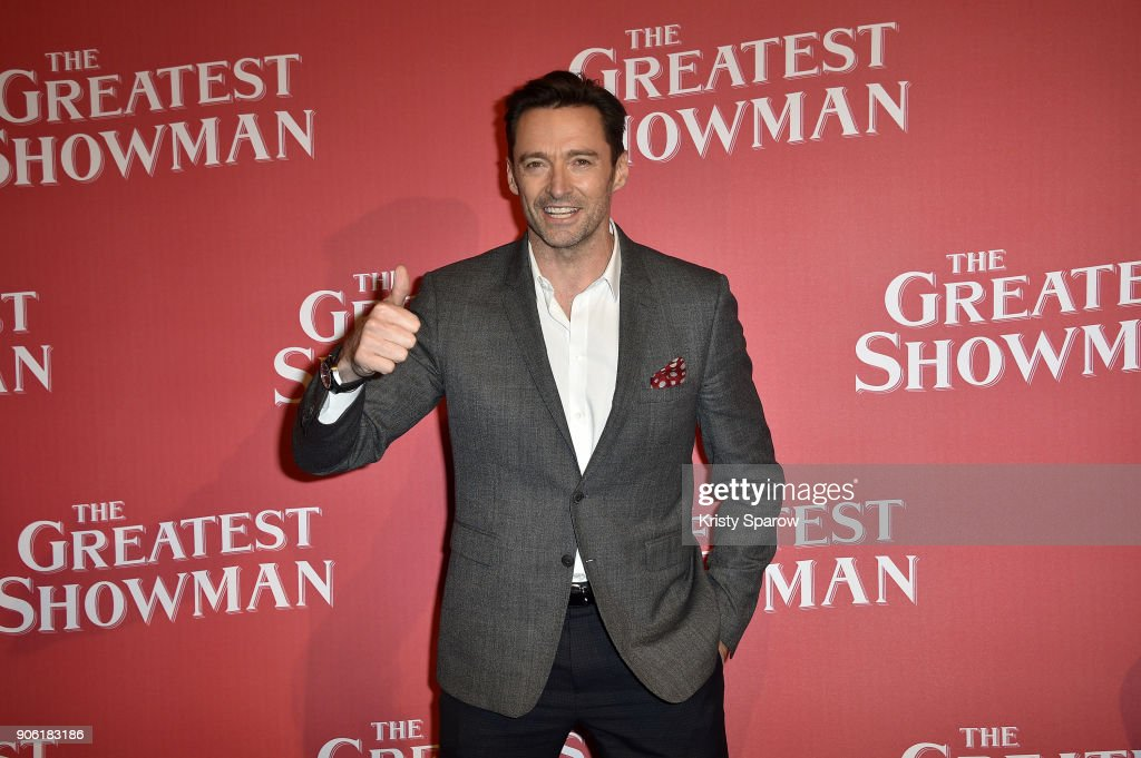 """The Greatest Showman"" Paris Premeire At Cinema Gaumont Capucines"