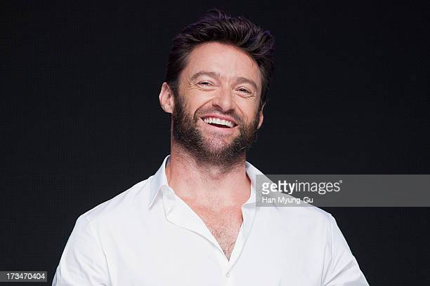 Actor Hugh Jackman attends 'The Wolverine' press conference at Grand Hyatt Hotel on July 15, 2013 in Seoul, South Korea. Hugh Jackman is visiting...