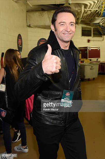 Actor Hugh Jackman attends Z100's Jingle Ball 2016 at Madison Square Garden on December 9 2016 in New York City