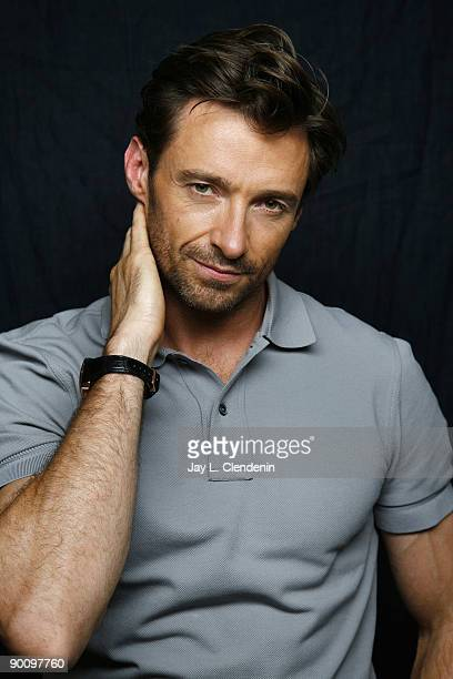 Actor Hugh Jackman is photographed at the Four Seasons Hotel in Beverly HIlls Nov 21 2008 for the Los Angeles Times PUBLISHED IMAGE