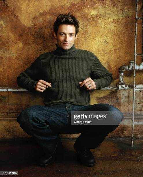 Actor Hugh Jackman is photographed for People Magazine on September 15 2000 in New York City
