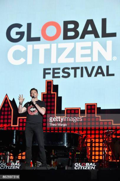 Actor Hugh Jackman performs onstage during the 2017 Global Citizen Festival: For Freedom. For Justice. For All. In Central Park on September 23, 2017...
