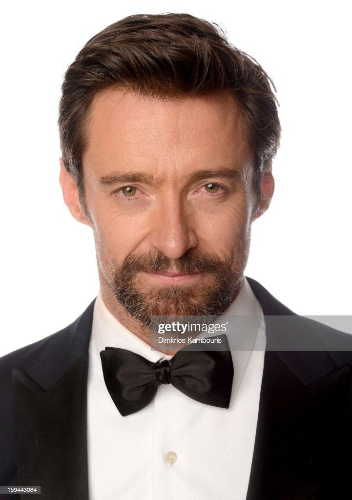 Actor Hugh Jackman, winner of the Best Performance by an Actor in a Motion Picture - Comedy Or Musical Award for 'Les Miserables' poses for a portrait at the 70th Annual Golden Globe Awards held at The Beverly Hilton Hotel on January 13, 2013 in Beverly Hills, California.