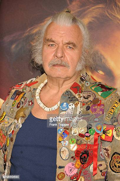 """Actor Hugh Keays-Byrne arrives at the premiere of """"Mad Max: Fury Road"""" held at the TCL Chinese Theater in Hollywood."""