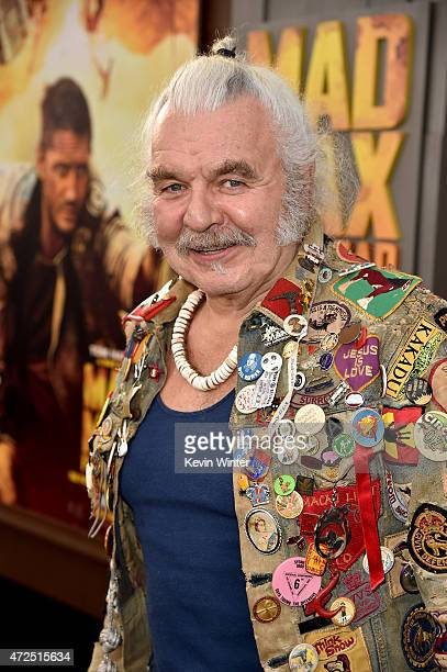 """Actor Hugh Keays-Byrne attends the premiere of Warner Bros. Pictures' """"Mad Max: Fury Road"""" at TCL Chinese Theatre on May 7, 2015 in Hollywood,..."""