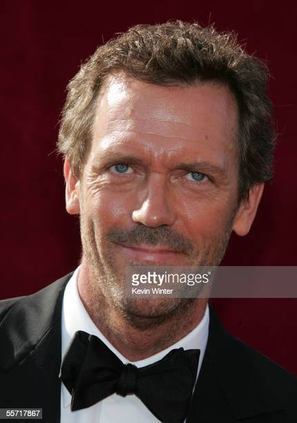 Actor Hugh Laurie arrives at the 57th Annual Emmy Awards held at the Shrine Auditorium on September 18 2005 in Los Angeles California