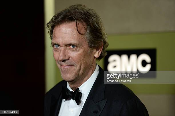 Actor Hugh Laurie arrives at the AMC Networks' 68th Primetime Emmy Awards AfterParty Celebration at BOA Steakhouse on September 18 2016 in West...
