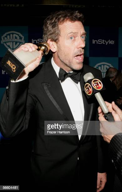 Actor Hugh Laurie arrives at the Warner Bros./InStyle Golden Globe after party held at the Oasis at the Beverly Hilton on January 16, 2006 in Beverly...