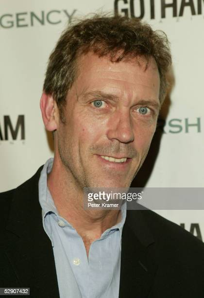 Actor Hugh Laurie attends the Gersh Agency and Gotham Magazine party to celebrate the New York upfronts on May 17 2005 in New York City