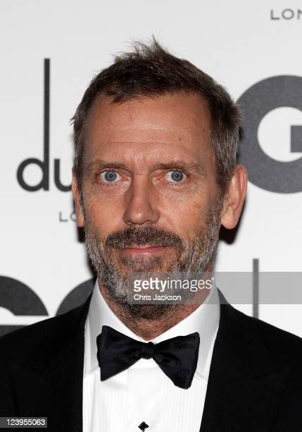 Actor Hugh Laurie attends the GQ Men Of The Year Awards at The Royal Opera House on September 6 2011 in London England