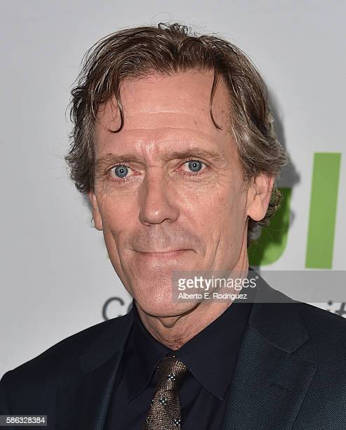 Actor Hugh Laurie attends the Hulu TCA Summer 2016 at The Beverly Hilton Hotel on August 5 2016 in Beverly Hills California