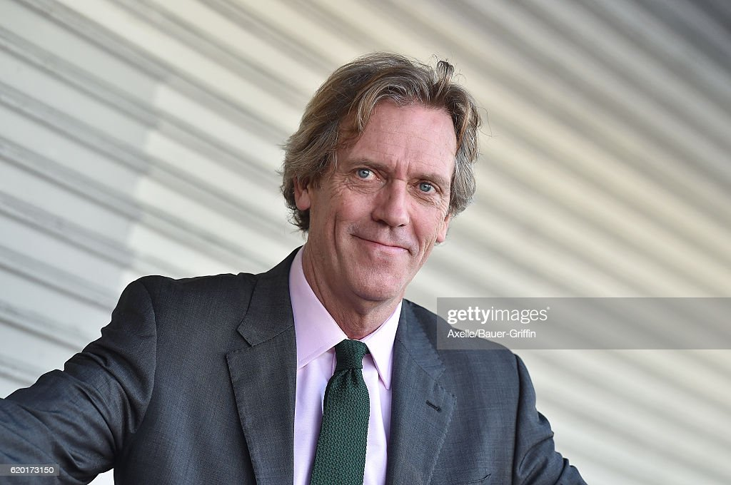 Actor Hugh Laurie is honored with star on the Hollywood Walk of Fame on October 25, 2016 in Hollywood, California.