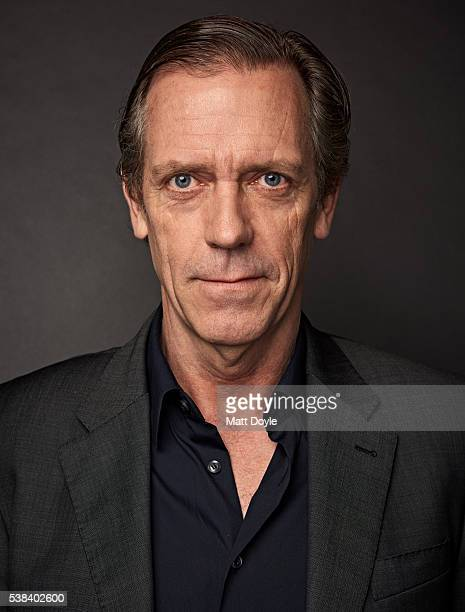 Actor Hugh Laurie is photographed at the Hulu UpFront for TV Guide Magazine on May 4 2016 in New York City