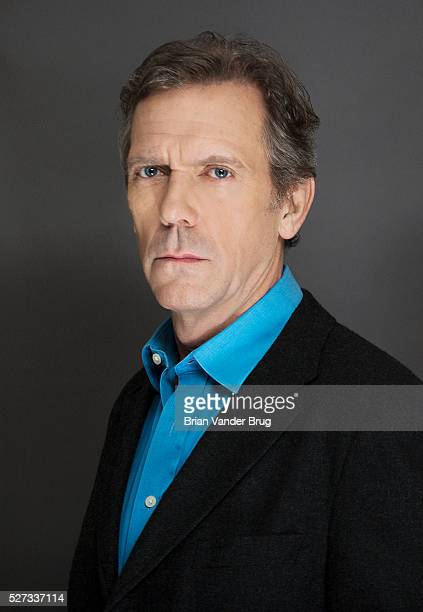 Actor Hugh Laurie is photographed for Los Angeles Times on April 6 2016 in Los Angeles California PUBLISHED IMAGE CREDIT MUST READ Brian Vander...