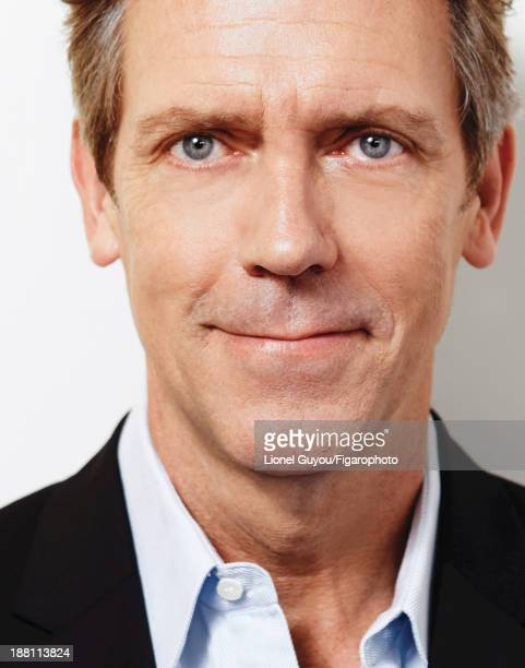 107663002 Actor Hugh Laurie is photographed for Madame Figaro on October 3 2013 in London England Shirt jacket PUBLISHED IMAGE CREDIT MUST READ...