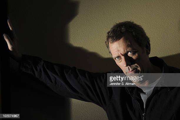 Actor Hugh Laurie is photographed for the Los Angeles Times PUBLISHED IMAGE
