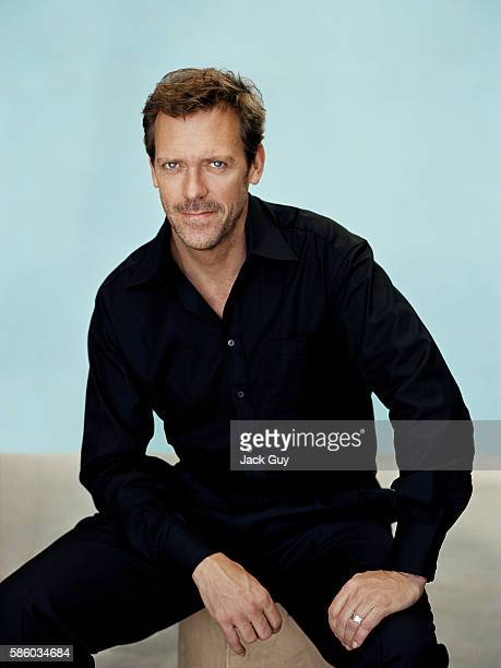 Actor Hugh Laurie is photographed for TV Guide in 2006