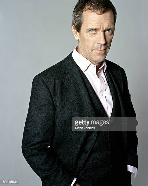 Actor Hugh Laurie poses for a portrait shoot in London for Times magazine February 14 2008