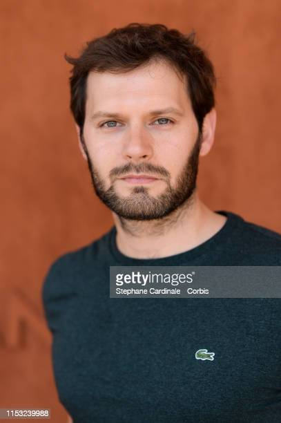 Actor Hugo Becker attends the 2019 French Tennis Open Day Eight at Roland Garros on June 02 2019 in Paris France