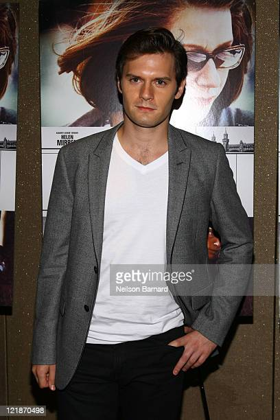 Actor Hugo Becker attends The Debt screening at the Tribeca Grand Hotel Screening Room on August 22 2011 in New York City