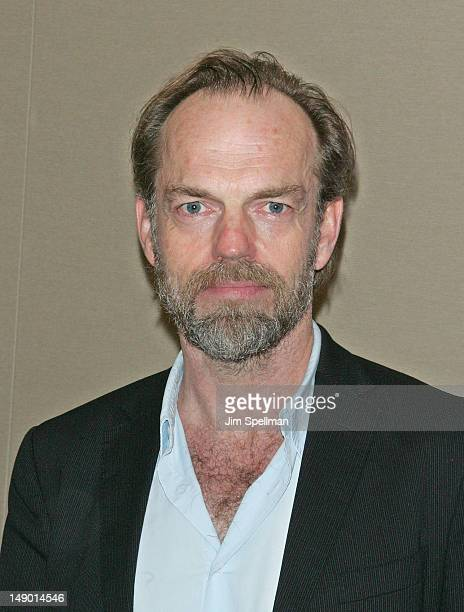 Actor Hugo Weaving attends the Uncle Vanya cast photo call at the New York City Center on July 21 2012 in New York City
