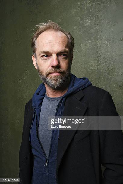 Actor Hugo Weaving from Strangerland poses for a portrait at the Village at the Lift Presented by McDonald's McCafe during the 2015 Sundance Film...